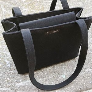 Vintage Kate Spade 90s Classic black purse tote